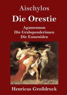 Aischylos: Die Orestie (Großdruck), Buch