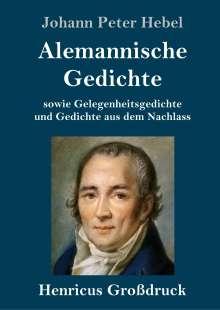 Johann Peter Hebel: Alemannische Gedichte (Großdruck), Buch
