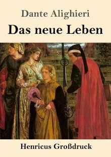 Dante Alighieri: Das neue Leben (Großdruck), Buch