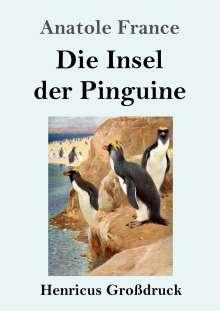 Anatole France: Die Insel der Pinguine (Großdruck), Buch