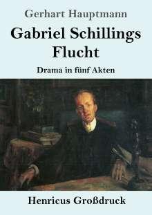Gerhart Hauptmann: Gabriel Schillings Flucht (Großdruck), Buch
