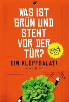 Norbert Golluch: Was ist grün und steht vor der Tür? Ein Klopfsalat!, Buch