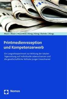Michaela Maier: Printmedienrezeption und Kompetenzerwerb, Buch