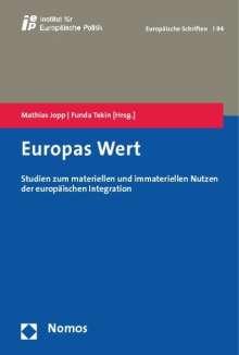 Europas Wert, Buch