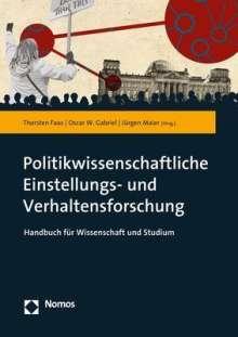 Politikwissenschaftliche Einstellungs- und Verhaltensforschung, Buch
