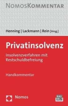 Privatinsolvenz, Buch