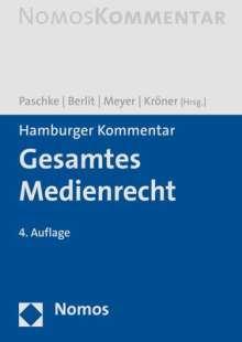 Hamburger Kommentar Gesamtes Medienrecht, Buch