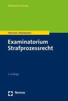 Bernd Heinrich: Examinatorium Strafprozessrecht, Buch