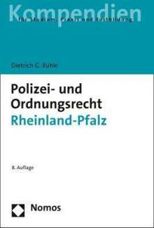 Dietrich G. Rühle: Polizei- und Ordnungsrecht Rheinland-Pfalz, Buch