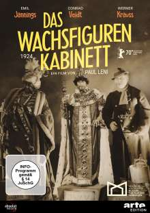 Das Wachsfigurenkabinett (1924), DVD