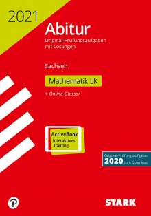STARK Abiturprüfung Sachsen 2021 - Mathematik LK, 1 Buch und 1 Diverse