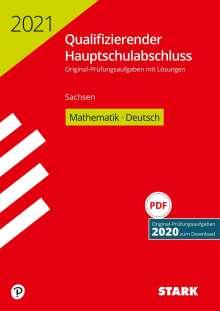 STARK Qualifizierender Hauptschulabschluss 2021 - Mathematik, Deutsch - Sachsen, Buch