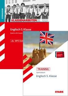 Paul Jenkinson: STARK Englisch 5. Klasse Gymnasium - Klassenarbeiten + Training, 1 Buch und 1 Diverse
