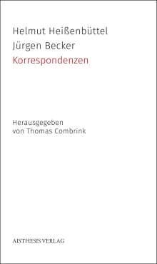 Helmut Heißenbüttel: Korrespondenzen, Buch