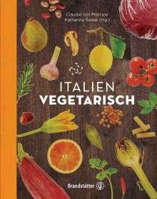 Claudio Del Principe: Italien vegetarisch, Buch