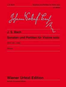 Johann Sebastian Bach: Sonaten und Partiten für Violine solo, Noten