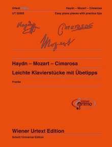 Domenico Cimarosa: Haydn - Mozart - Cimarosa, Noten