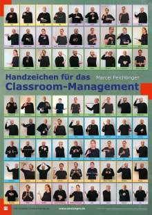 Marcel Feichtinger: Handzeichen für das Classroom-Management (Posterset), Diverse