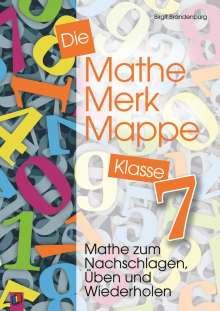 Birgit Brandenburg: Die Mathe-Merk-Mappe. Klasse 7, Buch