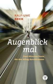 Ralf-Uwe Beck: Augenblick mal, Buch