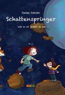 Daniela Schreiter: Schattenspringer, Buch