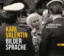Karl Valentin - Bildersprache, Buch