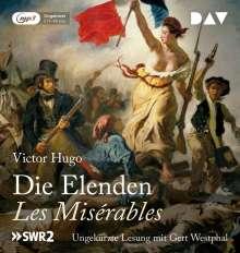Victor Hugo: Die Elenden / Les Misérables  (Ungekürzte Lesung), CD