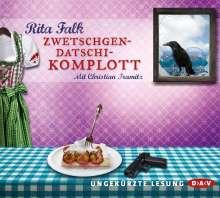 Rita Falk: Zwetschgendatschikomplott, CD