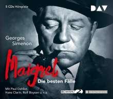 Georges Simenon: Maigret - Die besten Fälle, 5 CDs