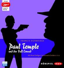 Francis Durbridge: Paul Temple und der Fall Conrad (mp3-Ausgabe), MP3-CD