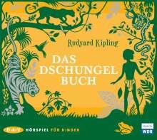 Rudyard Kipling: Das Dschungelbuch, 2 CDs
