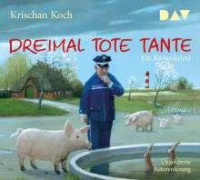 Krischan Koch: Dreimal tote Tante. Ein Küstenkrimi, 5 CDs