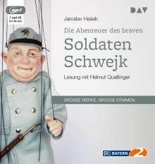 Jaroslav Hasek: Die Abenteuer des braven Soldaten Schwejk, MP3-CD