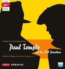 Francis Durbridge: Paul Temple und der Fall Jonathan, MP3-CD