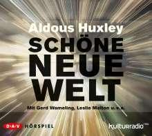 Aldous Huxley: Schöne neue Welt, 2 CDs