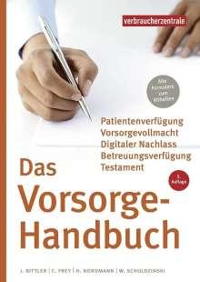 Jan Bittler: Das Vorsorge-Handbuch, Buch