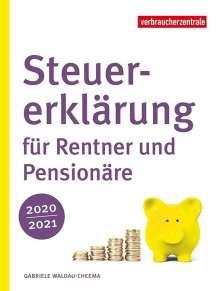Gabriele Waldau-Cheema: Steuererklärung für Rentner und Pensionäre 2020/2021, Buch