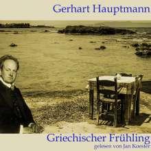 Gerhart Hauptmann: Griechischer Frühling, CD