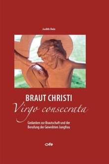 Judith Belz: Braut Christi - Virgo consecrata, Buch