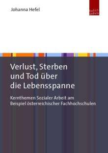 Johanna Hefel: Verlust, Sterben und Tod über die Lebensspanne, Buch