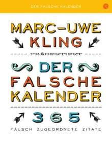 Marc-Uwe Kling: Der falsche Kalender, Diverse