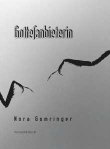 Nora Gomringer: Gottesanbieterin, Buch
