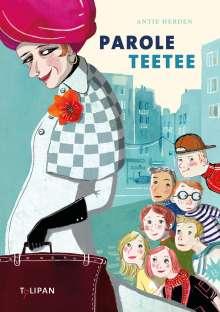 Antje Herden: Parole Teetee, Buch