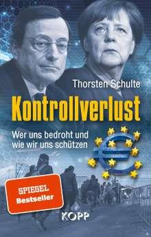 Thorsten Schulte: Kontrollverlust, Buch