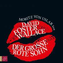 David Foster Wallace: Der große rote Sohn, 2 CDs