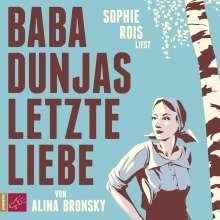 Alina Bronsky: Baba Dunjas letzte Liebe, 4 CDs