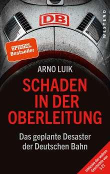 Arno Luik: Schaden in der Oberleitung, Buch