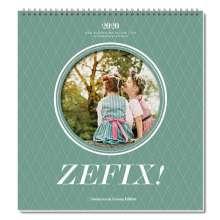 Martin Bolle: Zefix! Wandkalender 2020, Diverse