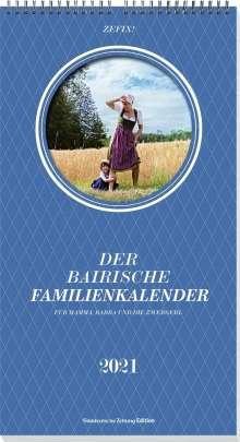 Martin Bolle: Zefix! Familienkalender 2021, Kalender