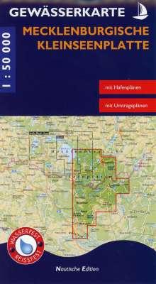 Gewässerkarte Mecklenburgische Kleinseenplatte 1 : 50 000, Diverse